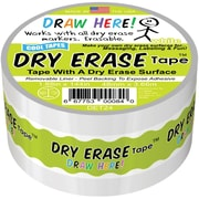 "Beacon Dry Erase Tape, 2"" X 4yd, White (DET24)"