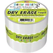 """Beacon Dry Erase Tape, 3"""" x 3yd, White (DET33)"""