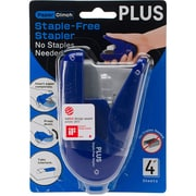 Plus Corporation Staple-Free Stapler Paper Clinch, Blue (31-172)