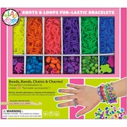 Bead Bazaar Knots & Loops Elastic Bands Kit (BB1555)