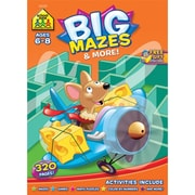 Big Workbook, Ages 6-8, Mazes and More, Softcover, (SZBWB-06328)