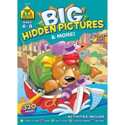Big Workbook, Ages 6-8, Pictures and More, Softcover, (SZBWB-06329)