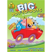 Big Workbook, Ages 4-6, Dot-to-Dots and More, Softcover, (SZBWB-06347)