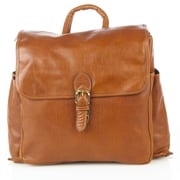 Aston Leather Large Backpack; Brown