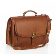 Aston Leather Leather Briefcase; Tan