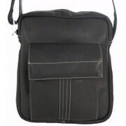 David King Premier Messenger Bag; Black