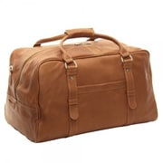 Piel 19'' Duffel Bag; Chocolate