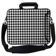 Designer Sleeves Executive Sleeves Houndstooth PC Laptop Bag; 14''