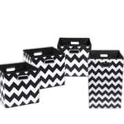 Modern Littles Bold Chevron 4 Piece Organization Bundle Set