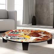 TAF DECOR Take a Ride in My Automoble Table Art; 35'' W x 35'' D