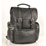 Aston Leather Large Travel Backpack; Tan