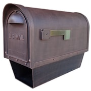Special Lite Products Post Mounted Mailbox; Copper