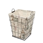 AdecoTrading Newspaper Print Styled Multi Purpose Basket