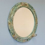 Handcrafted Nautical Decor Titanic Shipwrecked Decorative Porthole Wall Mirror