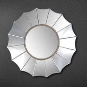 Abbyson Living Royal Round Wall Mirror