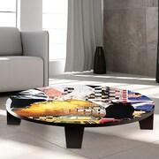 TAF DECOR Keep me in Your Dreams Table Art; 35'' W x 35'' D