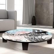 TAF DECOR Trailblazer Table Art; 44'' W x 44'' D