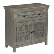 Coast to Coast Imports Khetri 2 Door and 1 Drawer Cabinet