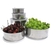 Imperial Home 20 Piece Stainless Steel Mixing Bowl Set