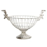 A&B Home Group, Inc French Chic Garden Footed Wire Container