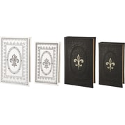 A&B Home Group, Inc French Chic Garden 4 Piece Book Box Set