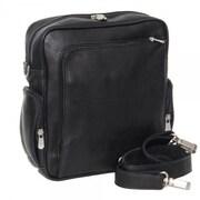 Piel Urban Shoulder Bag; Saddle