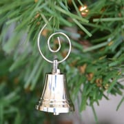 Handcrafted Nautical Decor Chrome Bell Christmas Tree Ornament