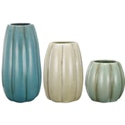 A&B Home Group, Inc 3 Piece Ceramic Vase Set