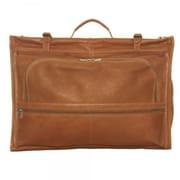 Piel Tri Fold Garment Bag; Charcoal