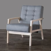 Wholesale Interiors Baxton Studio Mid Century Timor Arm Chair