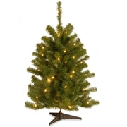 National Tree Co. Eastern 3' Spruce Artificial Christmas Tree w/ Clear Light