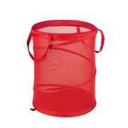 Honey Can Do Medium Mesh Pop Open Hampers Red 2/Pack (HMPZ01263)