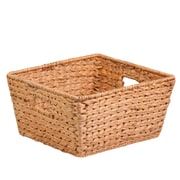 Honey Can Do Large Square Water Hyacinth Basket Natural (STO-02885)