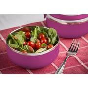 Modernhome Stainless Steel Lunch Box; Magenta