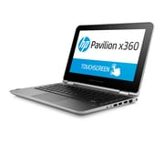 "HP Pavilion 11-K120NR X360 Convertible 11.6"", Intel Pentium N3700QC Processor, 500GB Windows 10 Notebook, Silver"