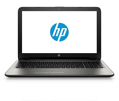 HP 15 ac163nr 15.6 HD BrightView Intel Core i3 5005U 750GB 6GB Windows 10 Notebook Silver