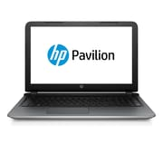 "HP Pavilion 15-ab165us 15.6"" HD BrightView Intel® Core™ i5-5200U 1TB 6GB Windows 10 Home Notebook Silver"