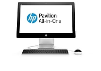 HP Pavilion 23-q116 23' Intel i3-4170T, 1TB, 4GB HDD Windows 10 Home All-in-One PC