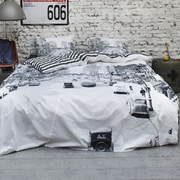 CoversAndCo Streets 2 Piece Twin Duvet Cover Set