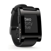 Pebble 301BL Smartwatches for iPhone and Android Devices
