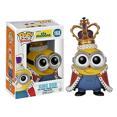 Funko Pop! Movies: Minions, King Bob