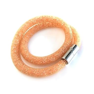 Best Desu Sparkling Crystals Stardust Bracelet, Orange