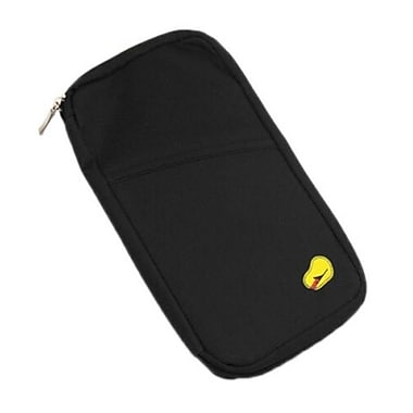 Best Desu Passport Holder Wallet, Black