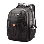 Samsonite Tectonic 2 Black and Orange Fabric Large Backpack (66303-1070)