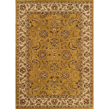 Continental Rug Company Meadow Breeze Dark Gold Rug; Runner 2'6'' x 8'