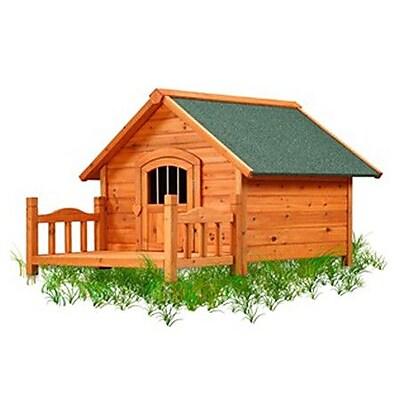Pet Squeak Porch Pups Dog House; Small