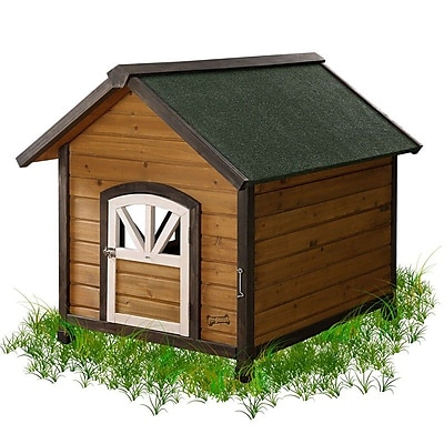 Pet Squeak Doggy Den Dog House; Medium