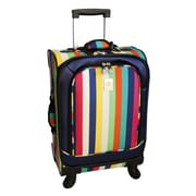 Jenni Chan 21'' Multi Stripes 360 Quattro Spinner Suitcase