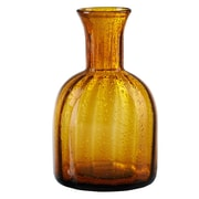 Artland Savannah Bubble Carafe; Amber