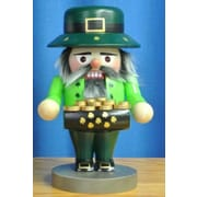 PinnaclePeak Steinbach Signed Troll Irish St. Patrick German Wood Christmas Nutcracker